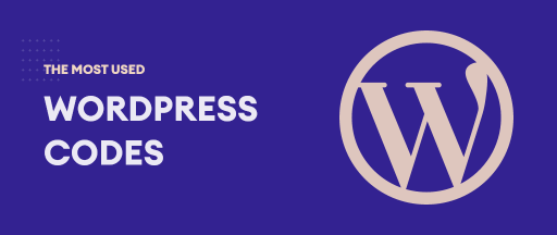 The Most Used WordPress Codes